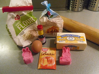 Sugar Cookies ingredients