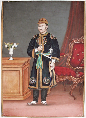 A Nepalese Official (Perhaps Prime Minister Bhimsen Thapa, served 1806-1837) LACMA M.91.206