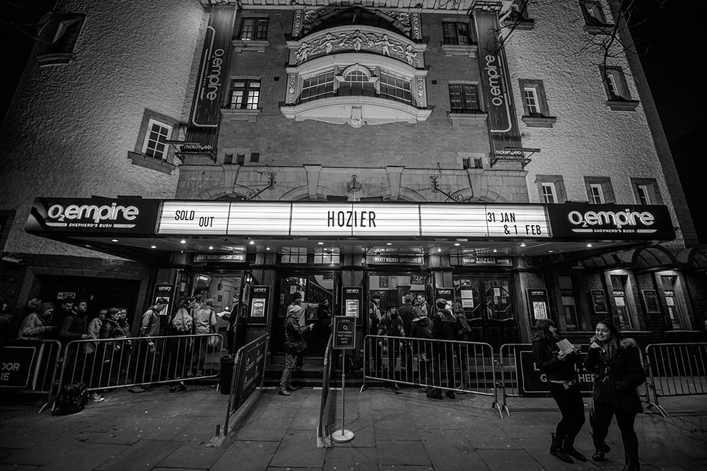 Hozier @ Shepherds Bush Empire 31/01/15zier-2