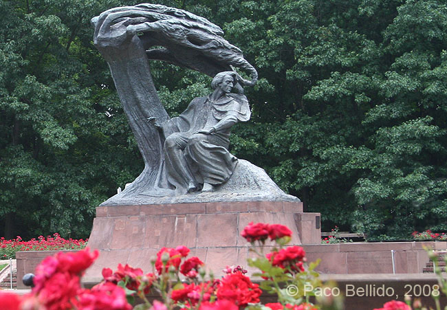 Monumento a Chopin. © Paco Bellido, 2008