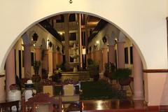 Entry hotel El Meson del Marques dining area