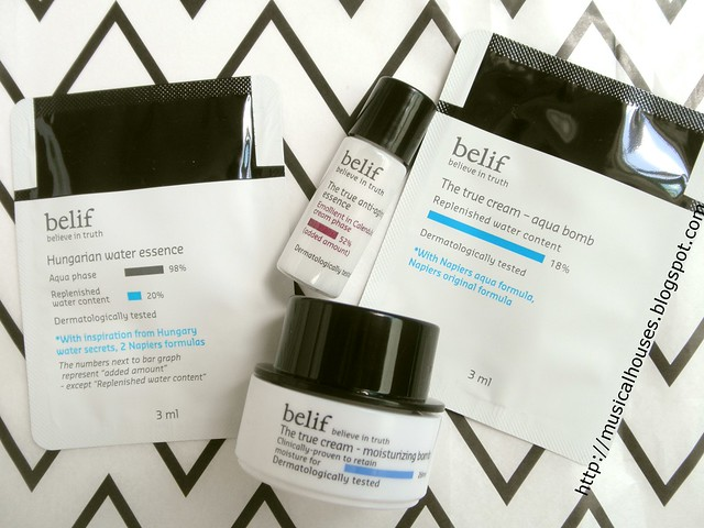 Bellabox January Belif Skincare Hydrabomb