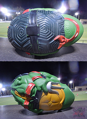 TEENAGE MUTANT NINJA TURTLES :: RAPHAEL'S SEWER SPORTS FOOTBALL v (( 1992 ))