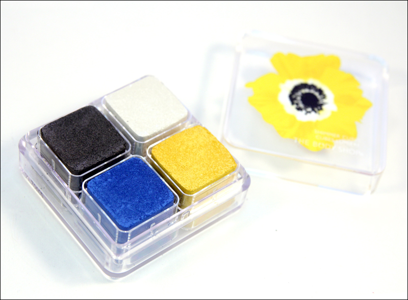 TBS Yellow poppy shimmer cubes