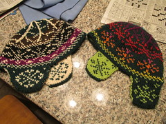 Double Knitted Toques