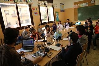 Taller radiofònic sobre contes del món a Sant Quirze de Besora