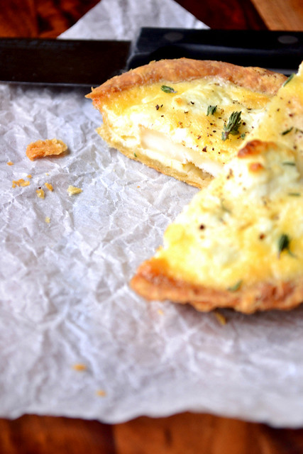Goats Cheese Tarts Recipe
