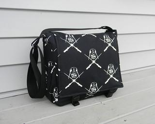 Messenger Bag/Diaper Bag Darth Vader