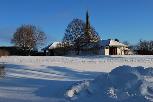 The chapel in winter