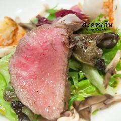 เนื้อซางะ สีสวยดีนะ ฮี่ๆ #talongin #foodie #foodporn #wongnai