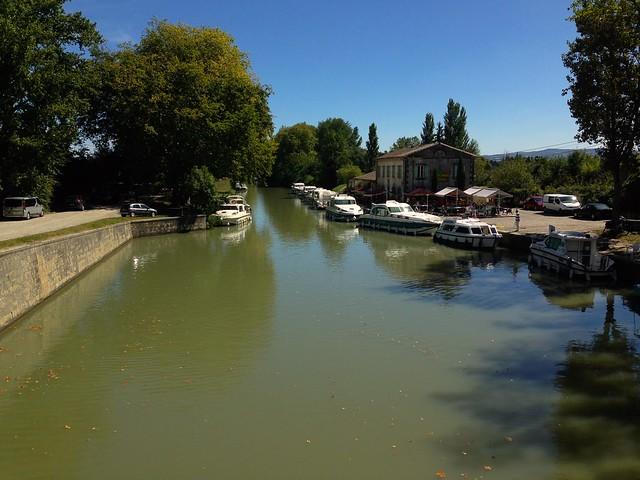 Canal du Midi Near Bram