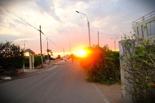 sunset peru ancon nikond3000 vscocam