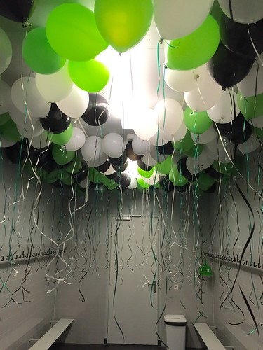 Heliumballonnen VV Brielle Geuzenpark
