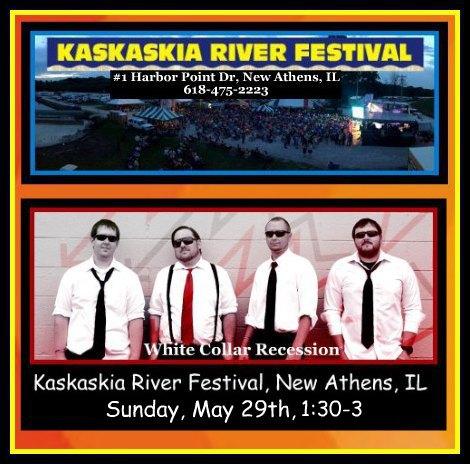 Kaskaskia River Festival Recession 5-29-16