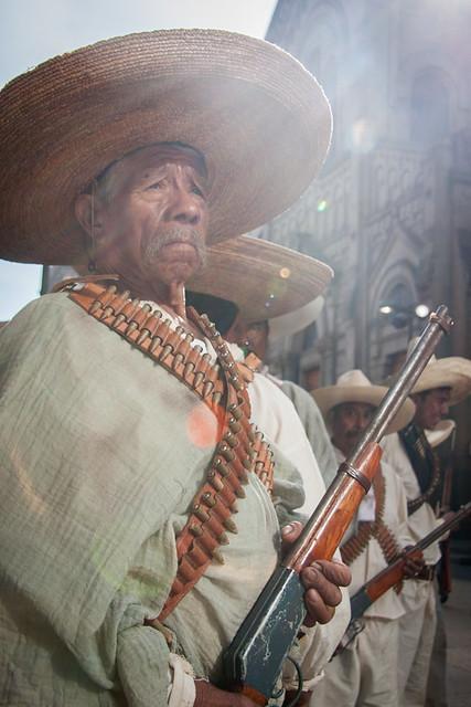 Los Zapatistas en DF