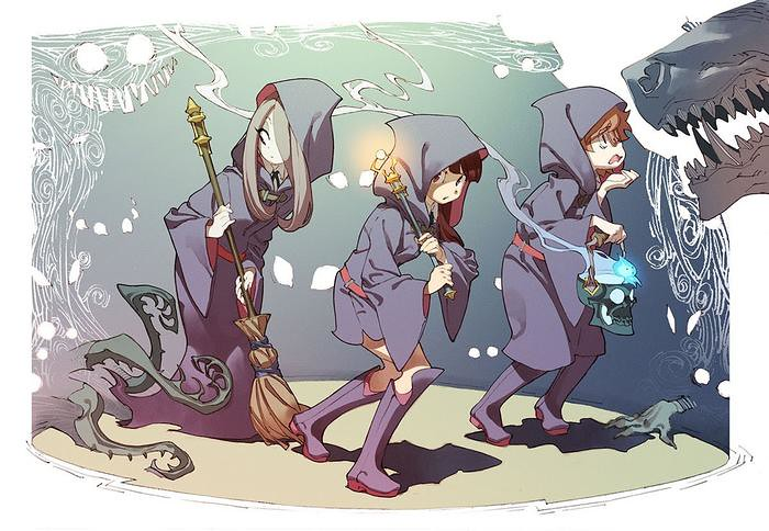 Netflix adquire o anime de Little Witch Academia