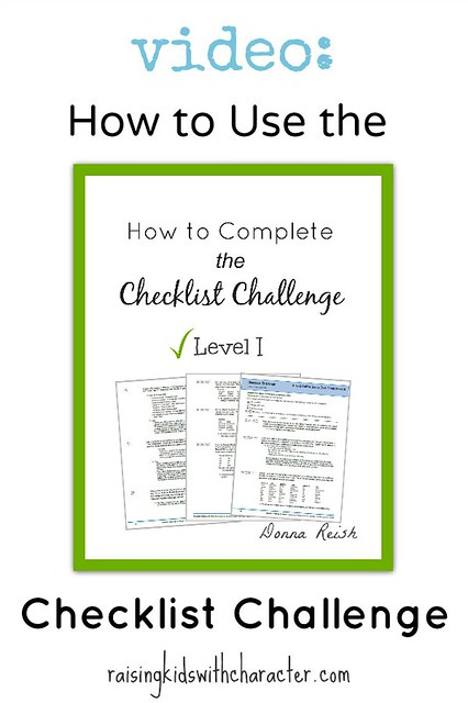 [Video] How To Use the Checklist Challenge