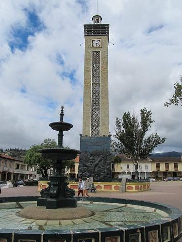 Loja: la Plaza de la Independencia