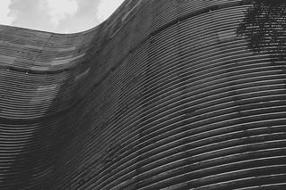 Edifício Copan, São Paulo, SP, Brasil (2010). Projeto do arquiteto Oscar Niemeyer.