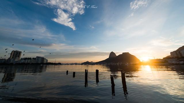 Sunrise at Botafogo Beach