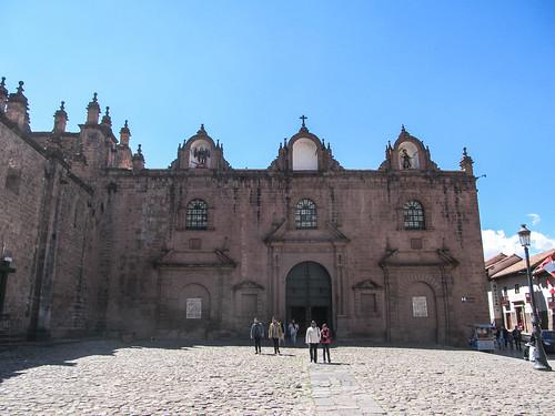 Cusco: la Plaza de Armas et la Iglesia del Triumfo