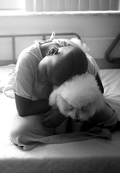 Jill Freedman, Emerald and Scout, Florida, 2001