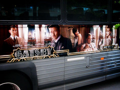 The Great Gatsby Film Bus AD Billboard Poster 9128