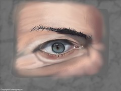 Chaulk Eye - backround  Challenge