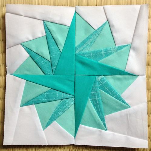 Paper pieced pompom