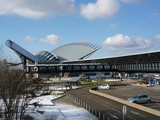 Lyon Aeroport Saint-Exupery Ausblick nach Norden
