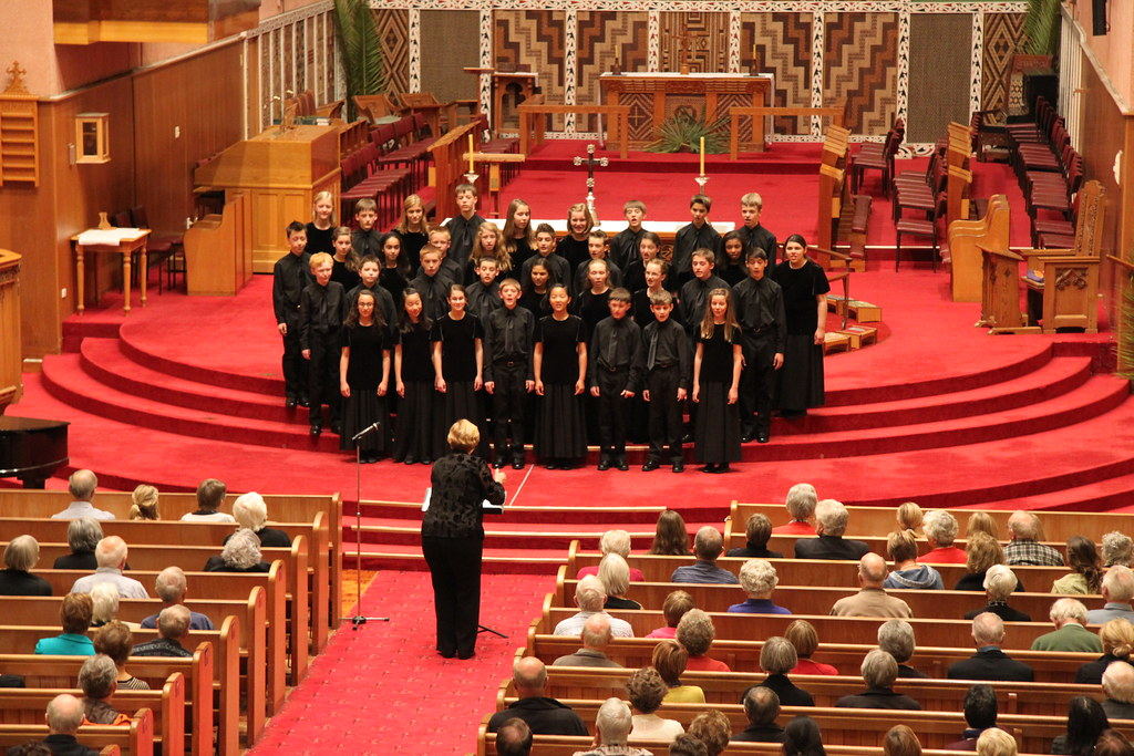 Colorado Children's Chorale performs in the Waiapu Anglican Cathedral in Napier