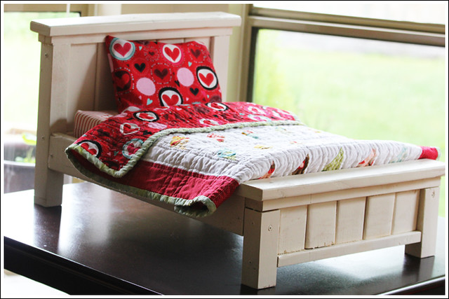 Farmhouse Doll Bed 4