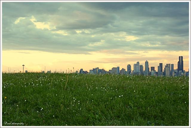 Seattle skyline - New angle
