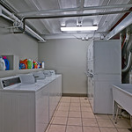 This on-site laundry room makes laundry time less stressful. Netflix in your apartment between loads? Of course.