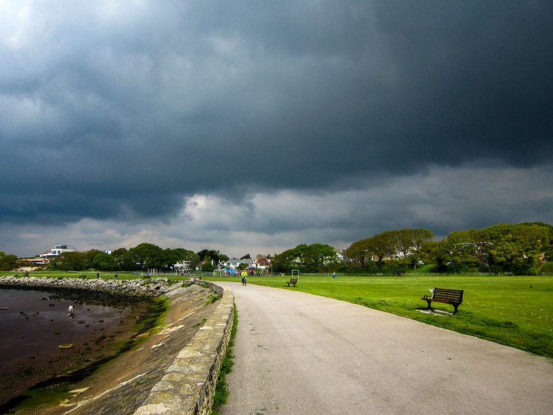 Storm Clouds over Poole