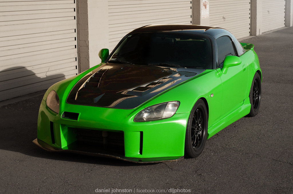 Lime Green AP1 Honda S2000