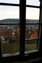 Esslingen Neckar from a window - Stuttgart - Germany