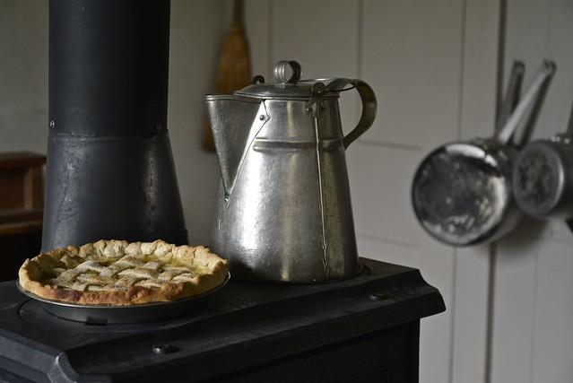Rhubarb Pie With Coffee