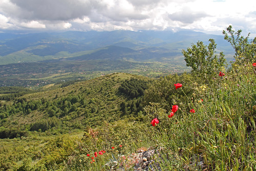 mountain nature view hills macedonia balkan skopje vodno