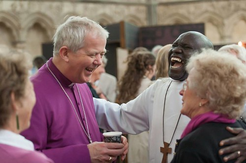 Bishop Nicholas Holtam and Bishop Antony Poggo