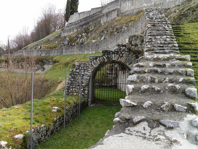 Roman Theatre Lugdunum Convenarum, Saint-Bertrand-de-Comminges, France