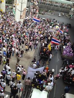 White Masks Demonstration