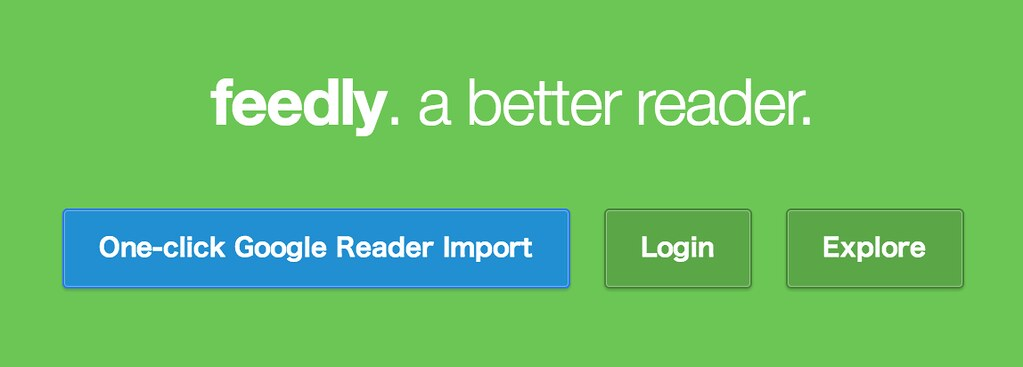 feedly home