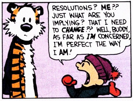 Calvin & Hobbes Resolutions
