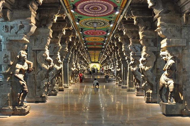 India - Tamil Nadu - Madurai - Meenakshi Temple - 20