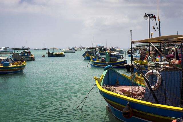 Marsaxlokk Port