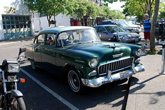 1955 Chevrolet 150 Sedan, Downtown Bellingham WA