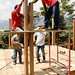 Montaje estructura de madera by Escala Urbana Arquitectura