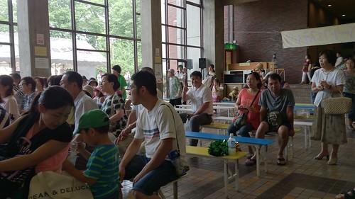 2013/7/21 蕨SPF 鑑賞する観客