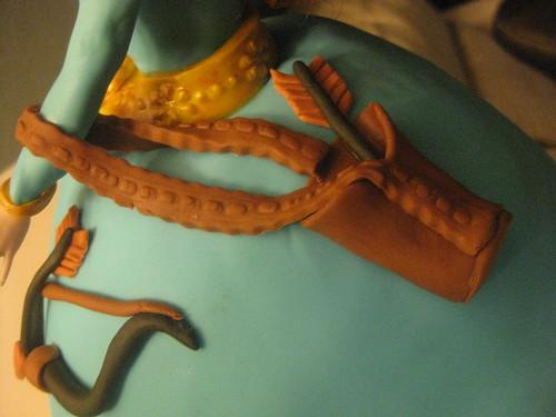 Brave Merida 3D Cake by melissatarun